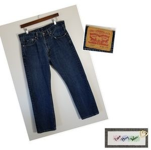 Levi's Jeans - Levi Strauss 505 Regular Fit 34x30 VG
